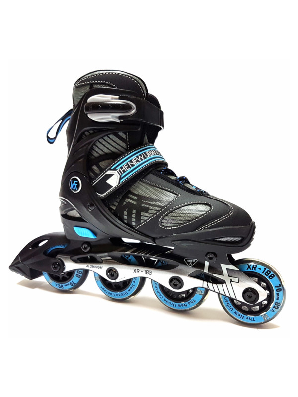 KRF ADJUSTABLE XR-180 INLINE SKATE - nastavitelné in-line brusle