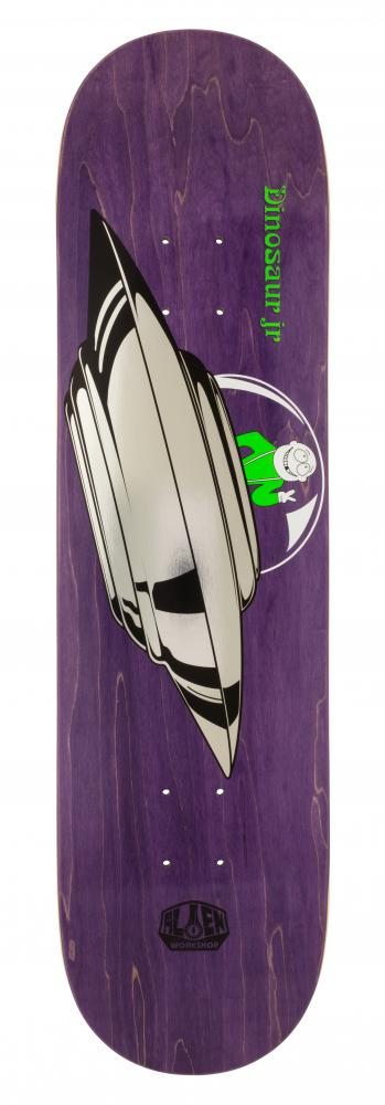 Alien Workshop One Off Deck - Dino JR Peace Saucer - skate deska