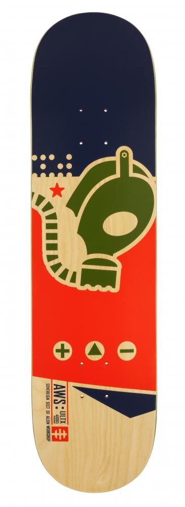 Alien Workshop Logo Deck - Gas Mask Medium - skate deska