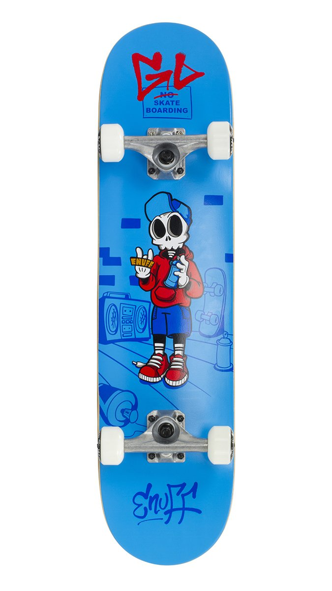 "Enuff - Skully Blue 7,75"" - skateboard"