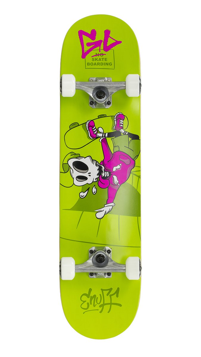 "Enuff - Skully Green 7,75"" - skateboard"