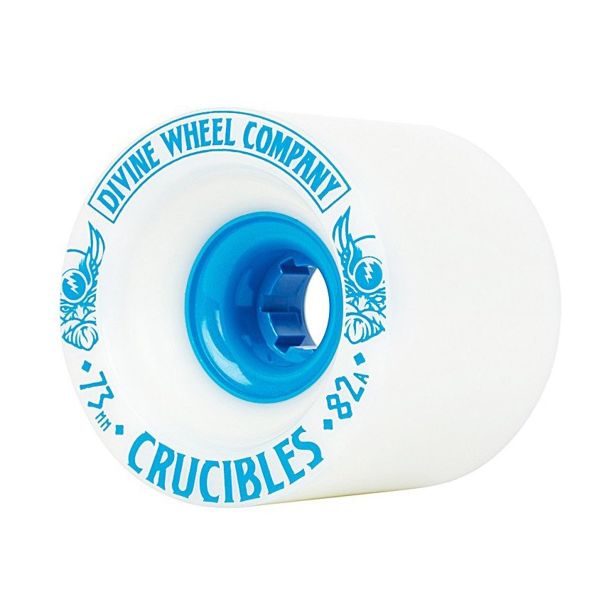 Divine - Crucibles 73mm/78A White/Blue (sada 4 ks)