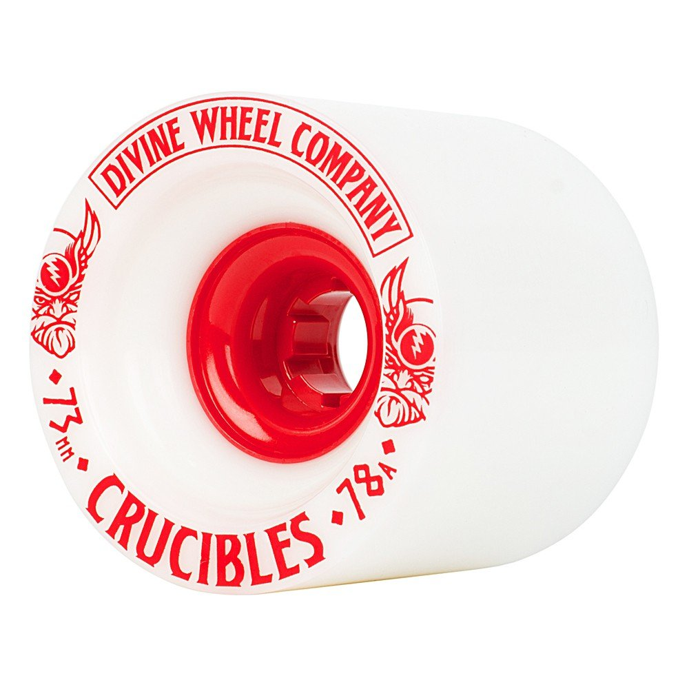 Divine - Crucibles 73mm/78A White/Red (sada 4 ks)
