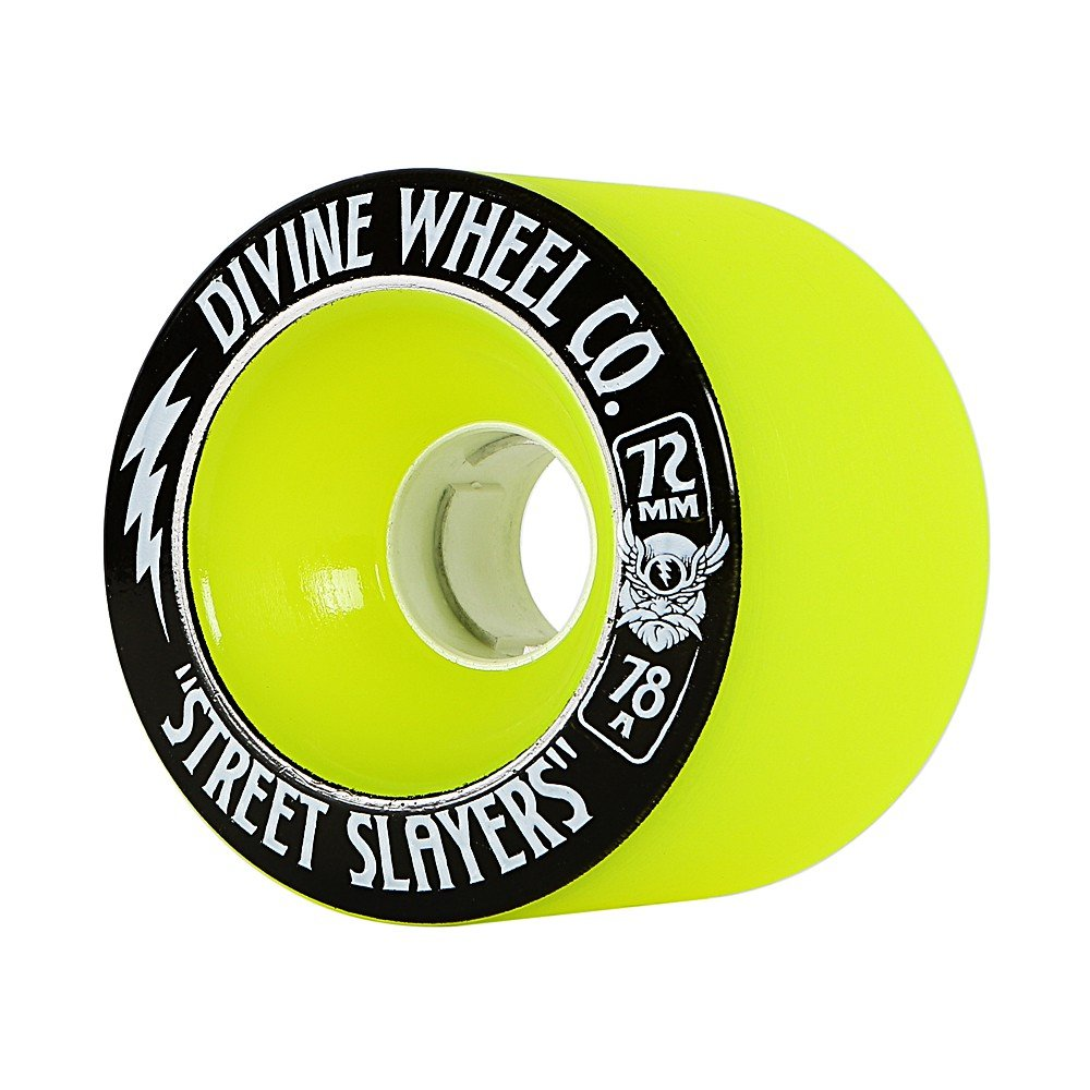Divine - Street Slayers 72mm/78A Green (sada 4 ks)
