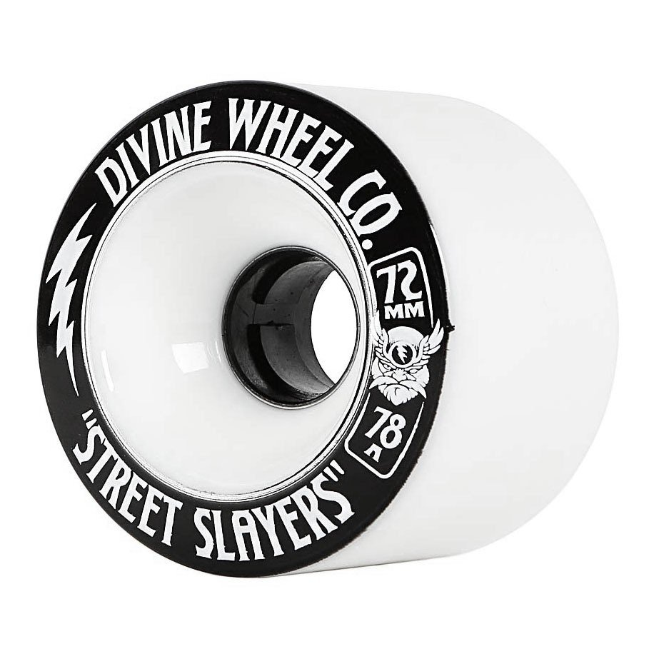 Divine - Street Slayers 72mm/78A White (sada 4 ks)
