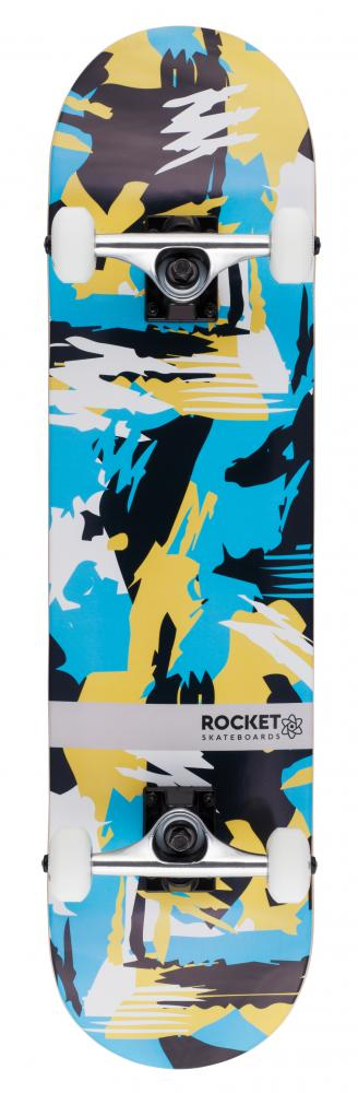 Rocket Complete Skateboard Distinct Series Abstract - skateboard