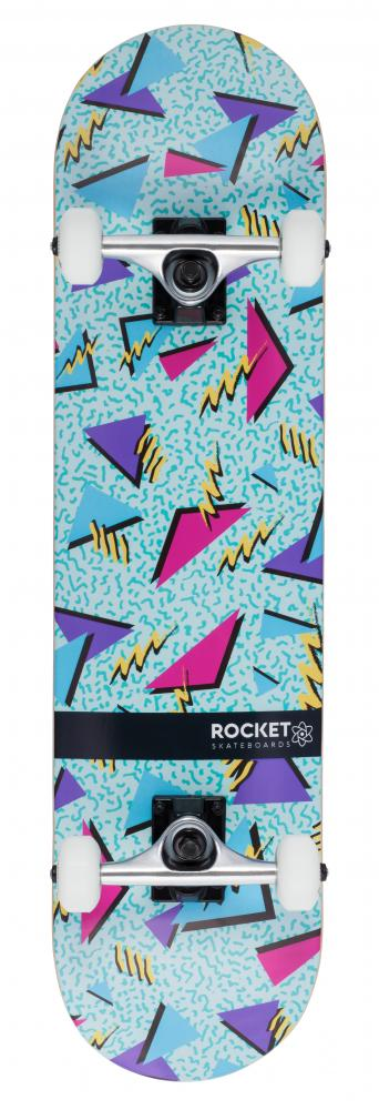 Rocket Complete Skateboard Distinct Series Retro