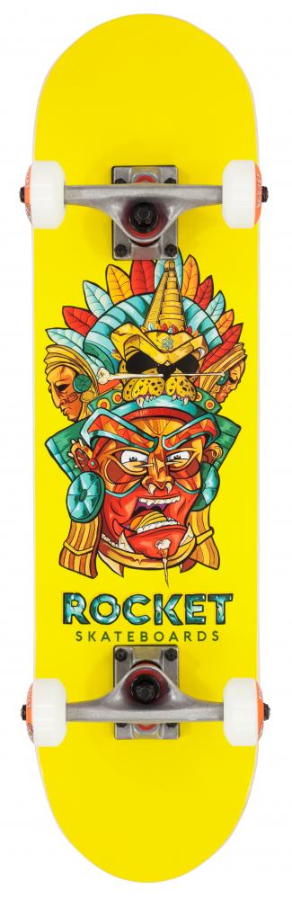 Rocket Complete Skateboard Mini Mask Aztec - skateboard