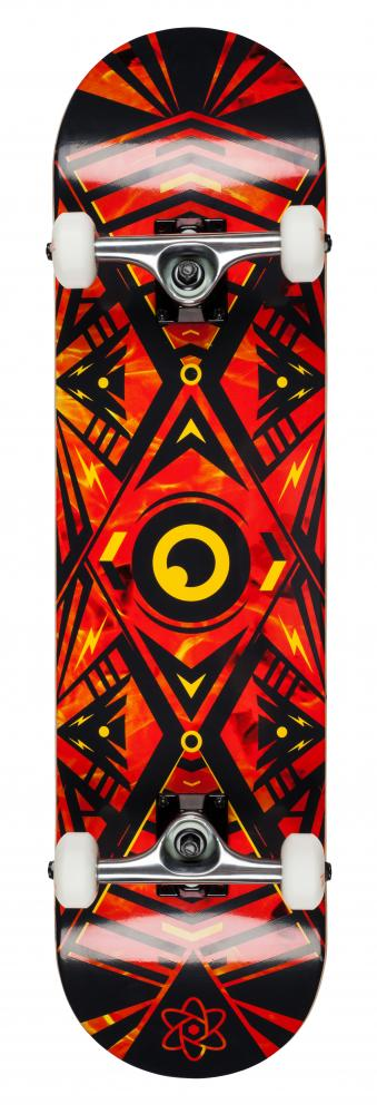 Rocket Complete Skateboard Surveillance Series Flames - skateboard