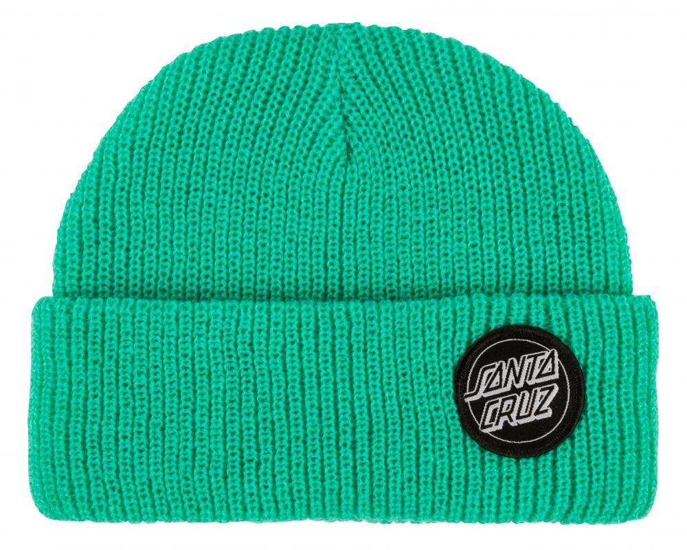 Santa Cruz - Beanie Outline Dot - Pool Blue - Pánský kulich