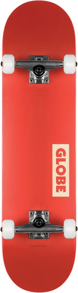"Globe - Goodstock - Red 7.75"" - skateboard"