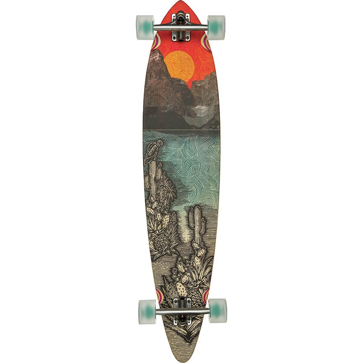 "Globe - Pintail 44"" Climate Change - longboard"