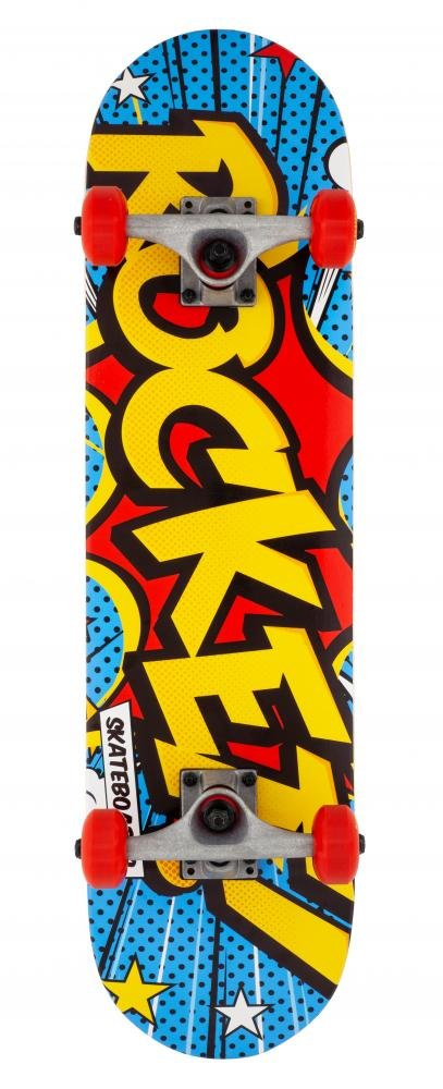 "Rocket - Popart Mini 7.5"" - skateboard"