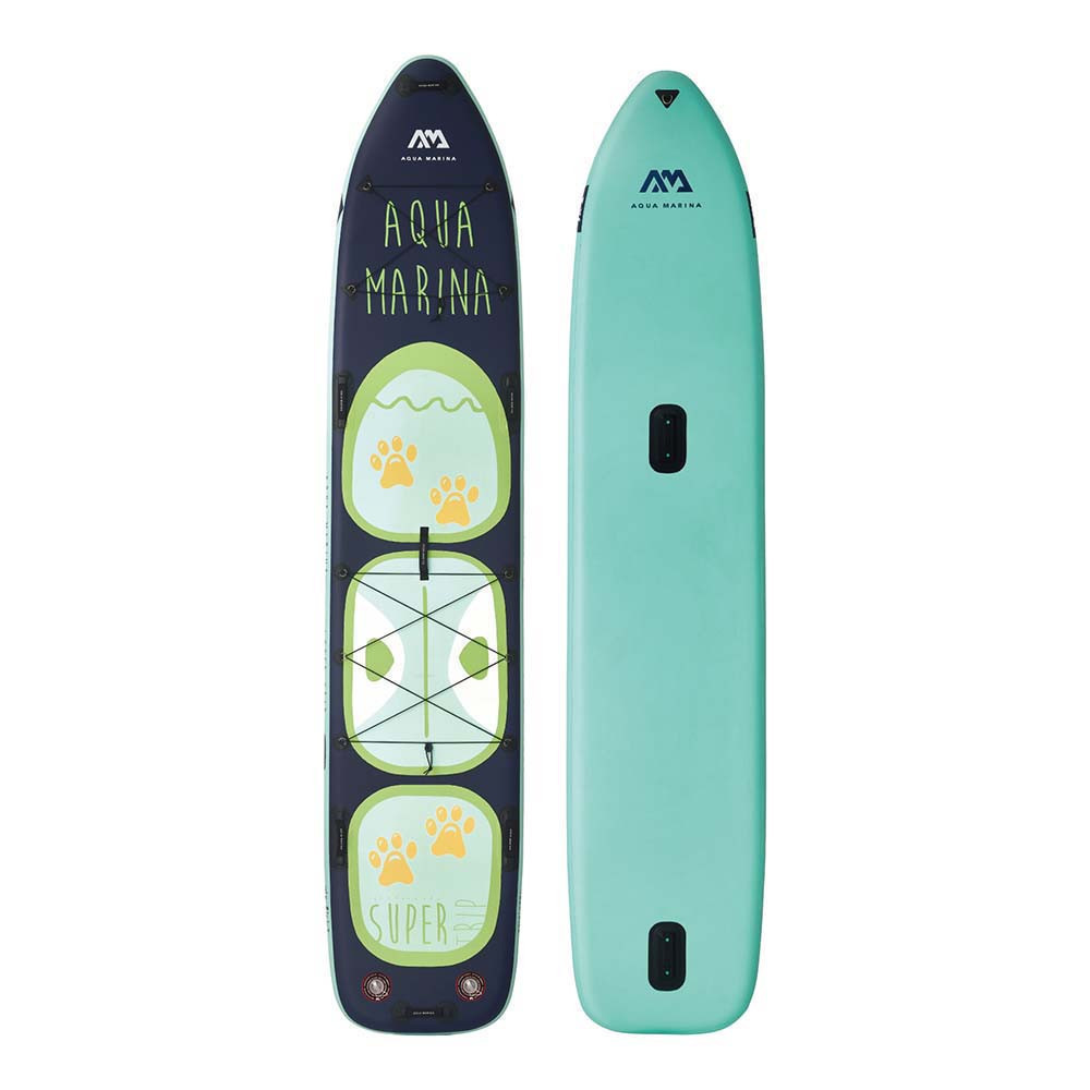 PADDLEBOARD AQUA MARINA SUPER TRIP TANDEM 14,6-34 LIGHT BLUE GREY