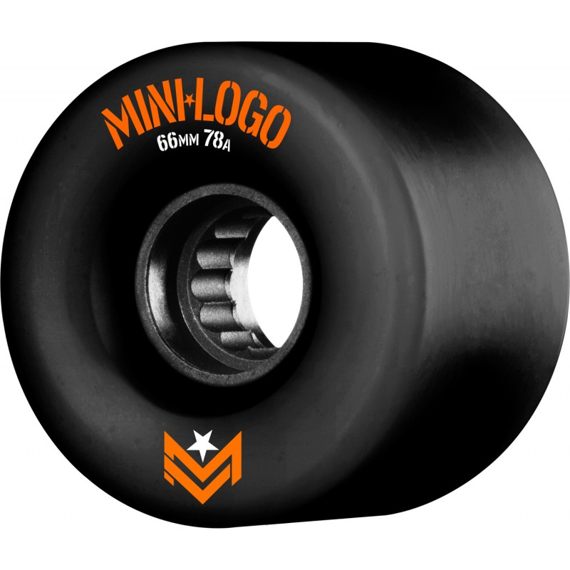 Mini Logo A.W.O.L. A-cut Black 66mm 78A skate kolečka