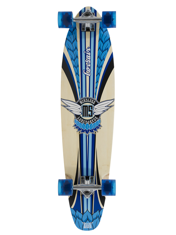 Mindless Corsair II blue  longboard