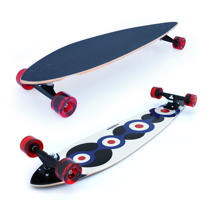 Hammond Longboards - London Cruiser longboard