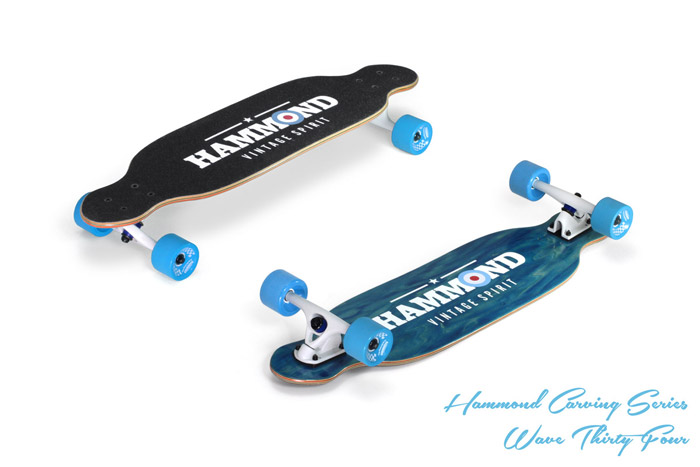 Hammond Longboards - Twin Tip 34 longboard