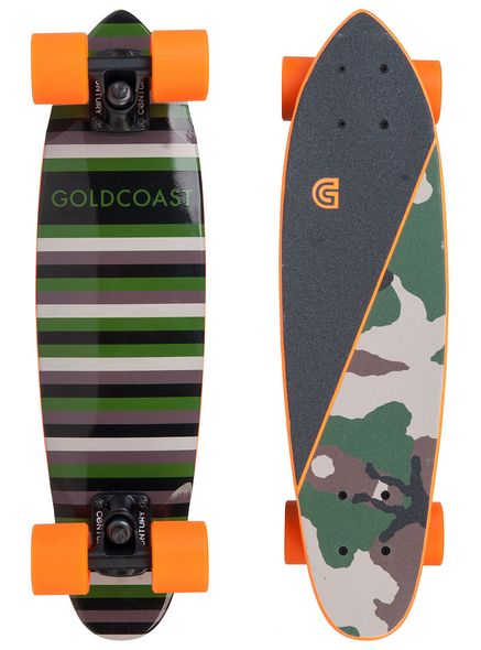 Goldcoast Conflict Camo - longboard