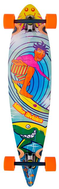 "Miller Division - Stocked GB 40"" longboard"