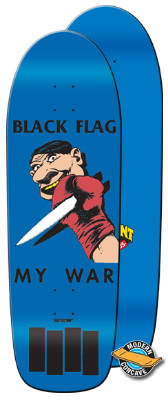 Elephant skate - Black flag - My War - skate deska