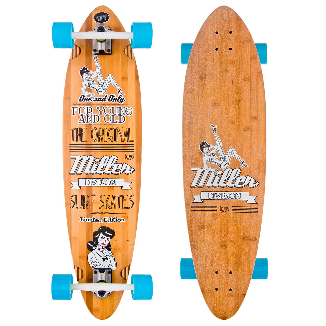 Longboard Miller Pin Up longboard