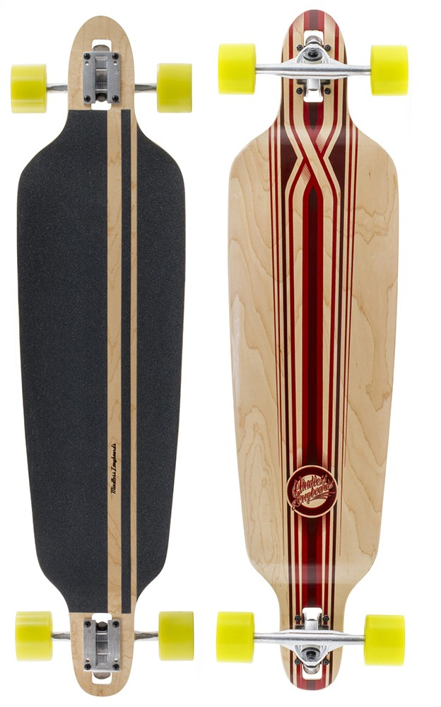 Mindless Savage V3 natural red -  longboard