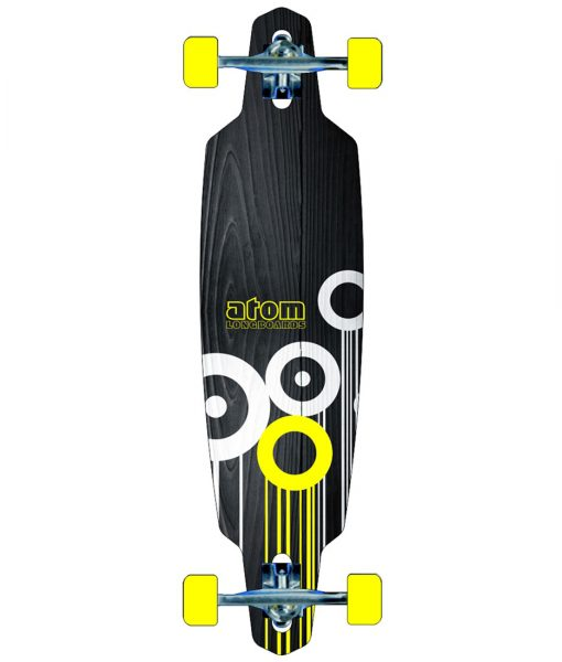Atom 36 Drop Through Yellow Longboard