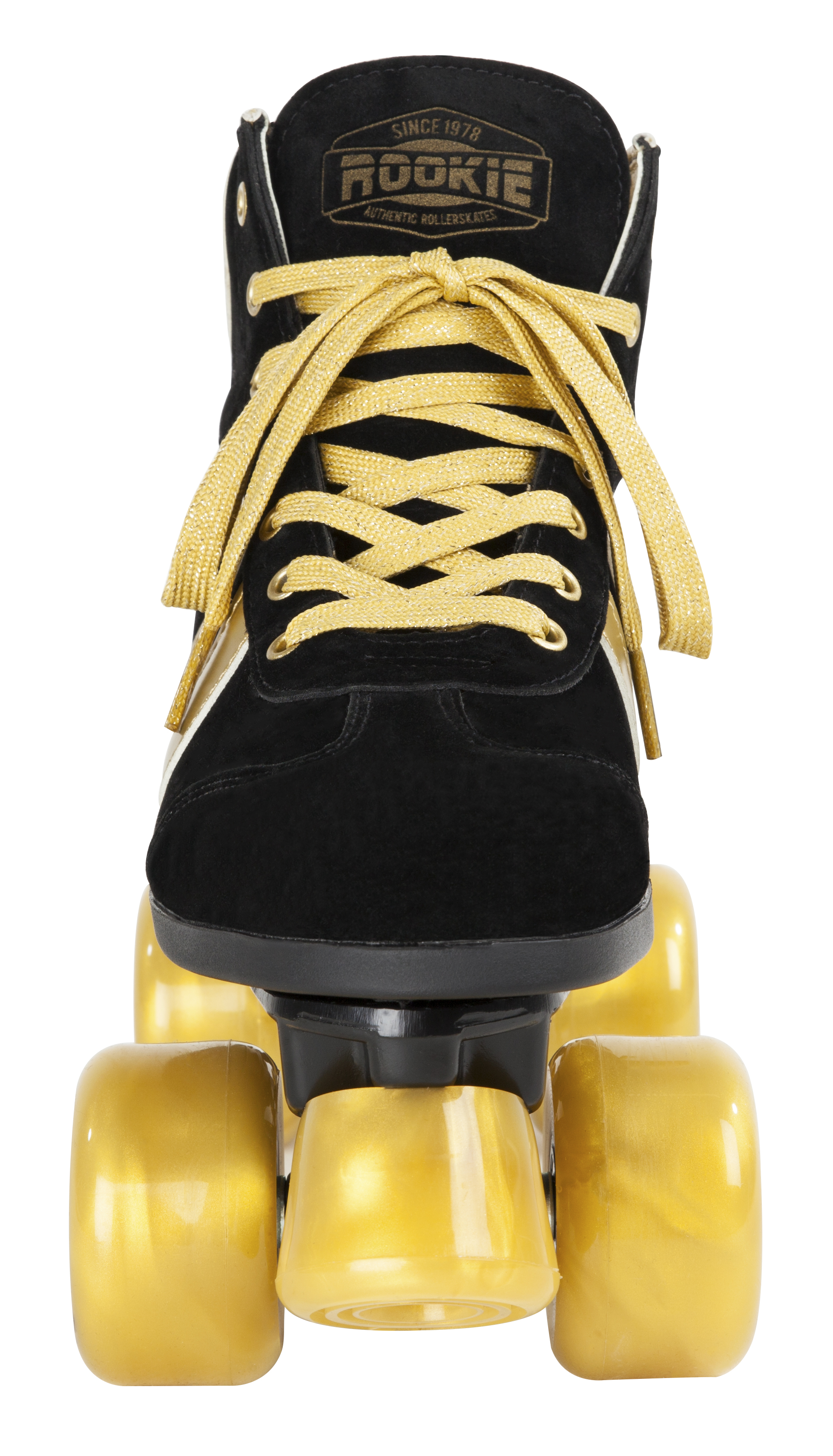 Rookie - Authentic Black and Gold trekové brusle