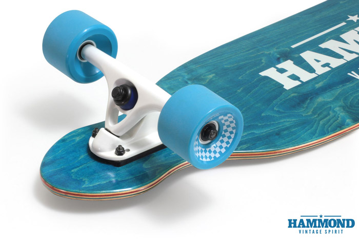 Hammond Longboards - Twin Tip 37 longboard
