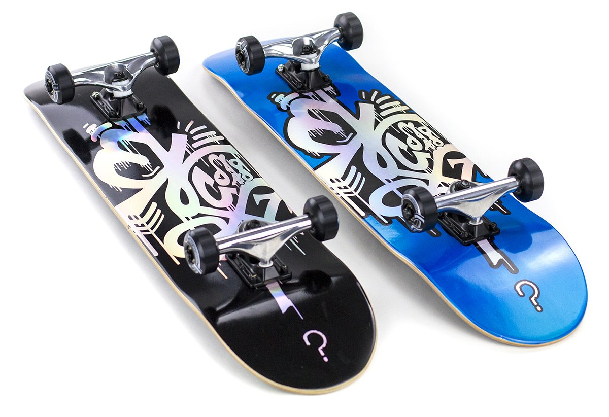 "Enuff - Hologram Special Edition Black 7.75"" - skateboard"
